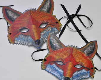 Mr. and Mrs. Fox Mask