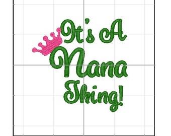 Its a nana thing 4x4 emb