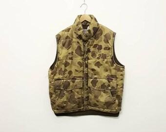 1980s Camouflage Nylon Jacket