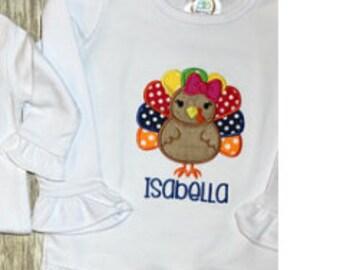 Turkey applique,Turkey design,Turkey,Thanksgiving design,Turkey embroidery,Turkey,Girl applique,Birthday applique,Turkey,Thanksgiving . - 04