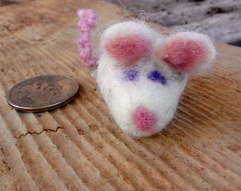 Needle Felted Wool Cat Toy