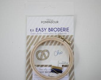 Chic Bretzel - Kit EASY BRODERIE