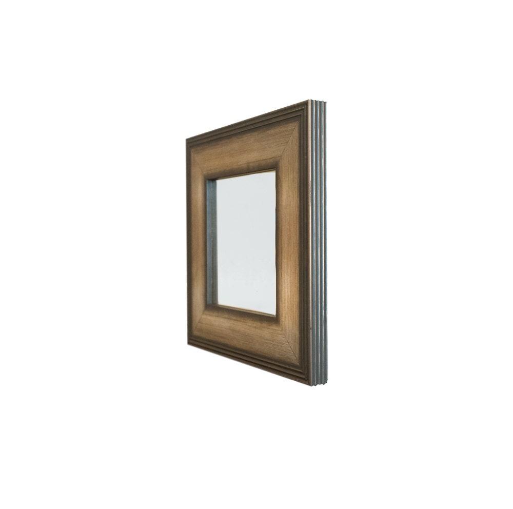 Espejo estriado plata personalizado