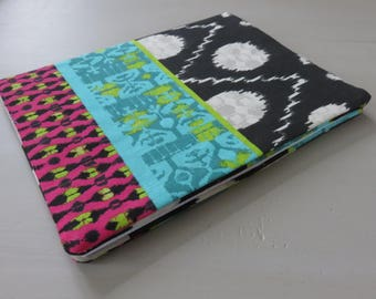 Book and her notebook fabric cover