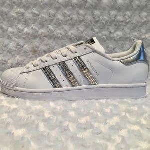 Adidas Originals Bling Adidas Sneakers Custom Crystal Adidas Shoes