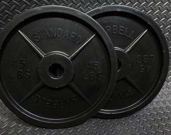 Fake Weights Barbell Pair