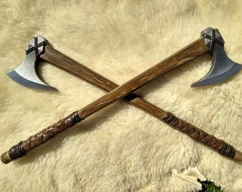 Norman Ax medieval viking for LARP, COSPLAY, ATREZZO made out of foam