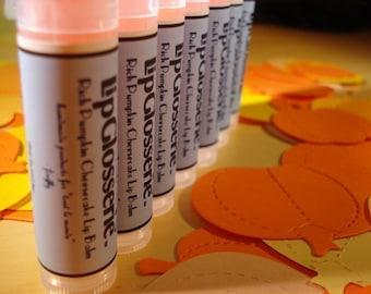 Pumpkin Cheesecake Lip Balm - Handmade, Vegan - Free Shipping