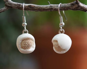 """Dangle earrings nature """"Frosted sand"""""""