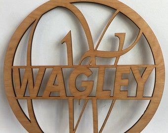 14-20 inch tall Personalized Door Initial, Monogram Door Initial, Front Door Initial, Door Wreath,  Wedding Gift Idea, Housewarming Gift