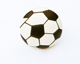 Soccer Ball Knob for Drawers, Cabinets, Closets