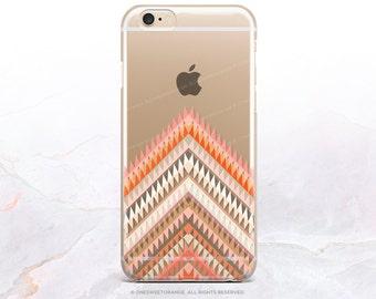 iPhone 8 Case iPhone X Case iPhone 7 Case Chevron Clear GRIP Rubber Case iPhone 7 Plus Clear Case iPhone SE Case Samsung S8 Plus Case U61