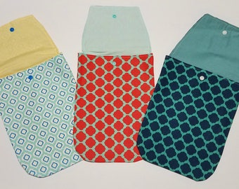 Moroccan Shape Fabric Diaper and Wipe case