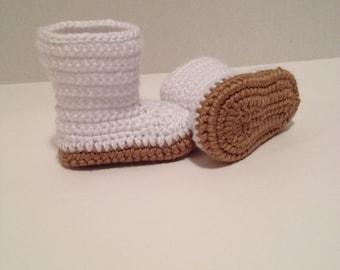 Crochet Baby Booties Etsy
