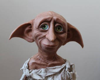 "Dobby doll, house elf. Statue Dobby. 18"", 24 and 30 inches"