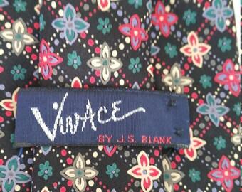 Vivace By J.S.Blank Silk Necktie X Long