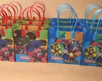 12pcs transformers goodie treat bags