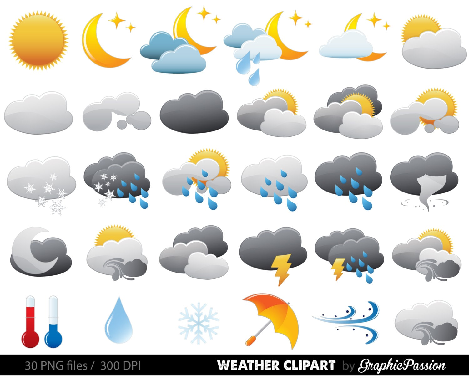 weather clipart clip art vectors weather digital images etsy clipart of african american king etsy clip art dottycreative