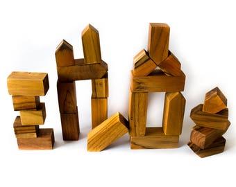 Benji BLOCKS - Beautiful, Sustainable, Hardwood Blocks for all ages