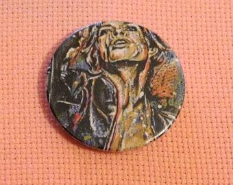 CLEARANCE, Seconds stock, Needle Minder, Licensed Art, Cross Stitch Keeper, Sara Bowersock Art, Fridge Magnet, Button Magnet, Pin Holder