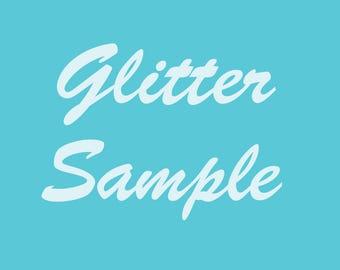 Glitter Sample Pack