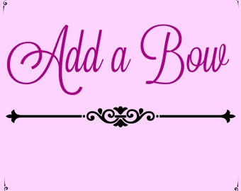Add a Bow to One PickleBug SEWN Tutu - Double Faced Wide Satin Bow SEWN to Tutu