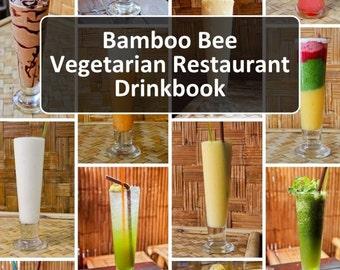 Bamboo Bee Vegetarian Restaurant Drinkbook