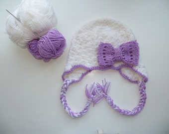 Free shipping Hat for girls, hat for girls of any color, Hat for girls with bow, Hat for baby