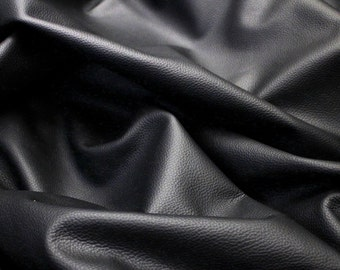 Large Black Leather Hide High Quality Colour Black , Very Nice Leather