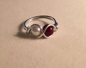 Two-stone ring