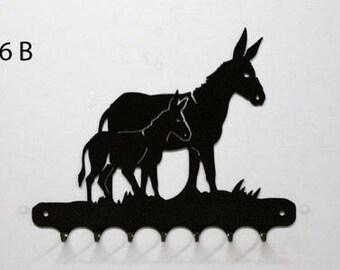 Hangs key pattern metal: donkey