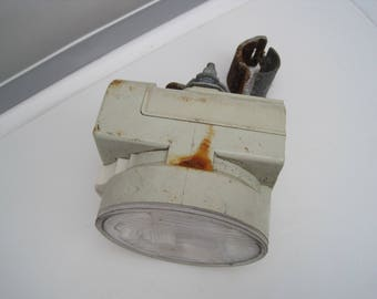 Old bicycle lamp dynamo bike lamp 60's lamp bike light