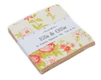 Moda Ella & Ollie Floral Charm Pack  #20300PP