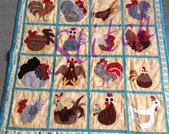 Made to Order Chicken quilt