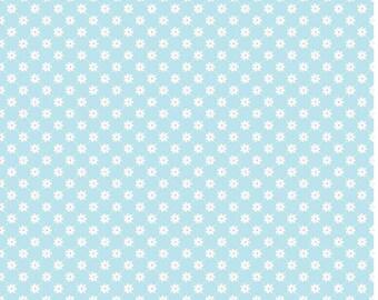 Dream Latice in Blue by Sandra Workman Designs  for Riley Blake- 1 Yard
