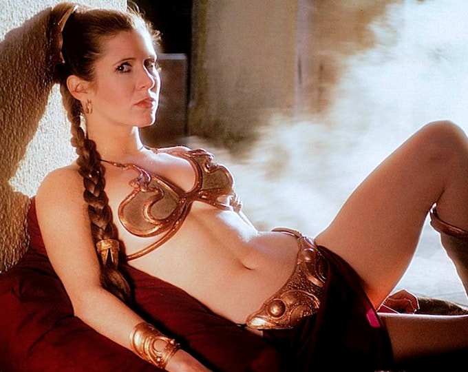 "Actress Carrie Fisher as ""Princess Leia"" in the Film ""Star Wars"" Pin Up - 8X10 or 11X14 Publicity Photo (FB-155)"