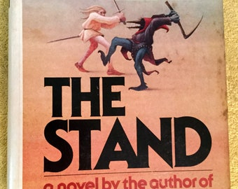 Vintage The Stand by Stephen King, First Edition, first printing, 1978 DoubleDay
