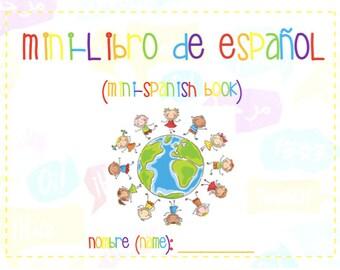 Mini-Libro de Espańol (Mini-Spanish Book)