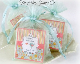 Baby shower soap favors, Abbey James, shower favors, baby shower favors, set of 10