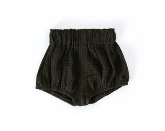High Waisted Bloomers In Black