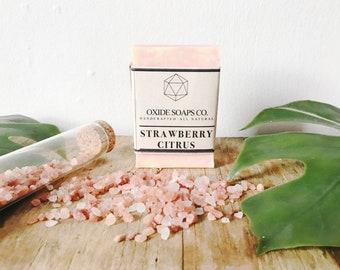 Strawberry Citrus soap