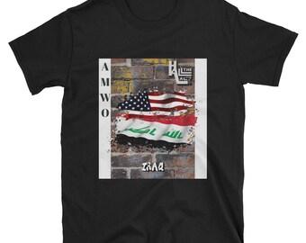 AMWO T-shirt - USA/Iraq