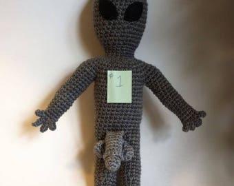 Peter the Grey Alien