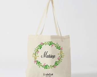 W2Y Tote bag custom wedding, Bridesmaid bags, Wedding Bags, Bridal Pary Gifts, Personalized Handbags, Bridesmaid Gifts,  by atelier des amis
