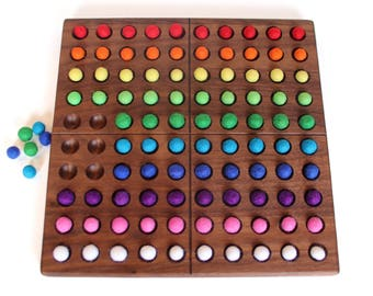 Hundred Frame -- Hundred Board -- Montessori Counting Toy