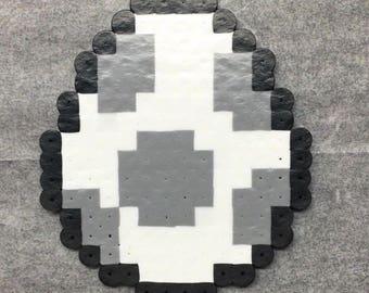 Mario perler, Super Mario World, 8 bit perler bead pixel art, SNES, power-up, magnet, stocking stuffer, wall decor