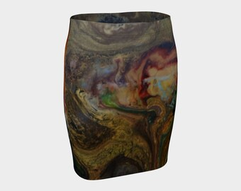 Earth Fitted Skirt. Looks great on U. Take one home tonight!