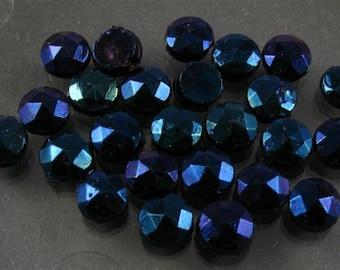 Vintage Nailheads - 4.5mm Blue Iris