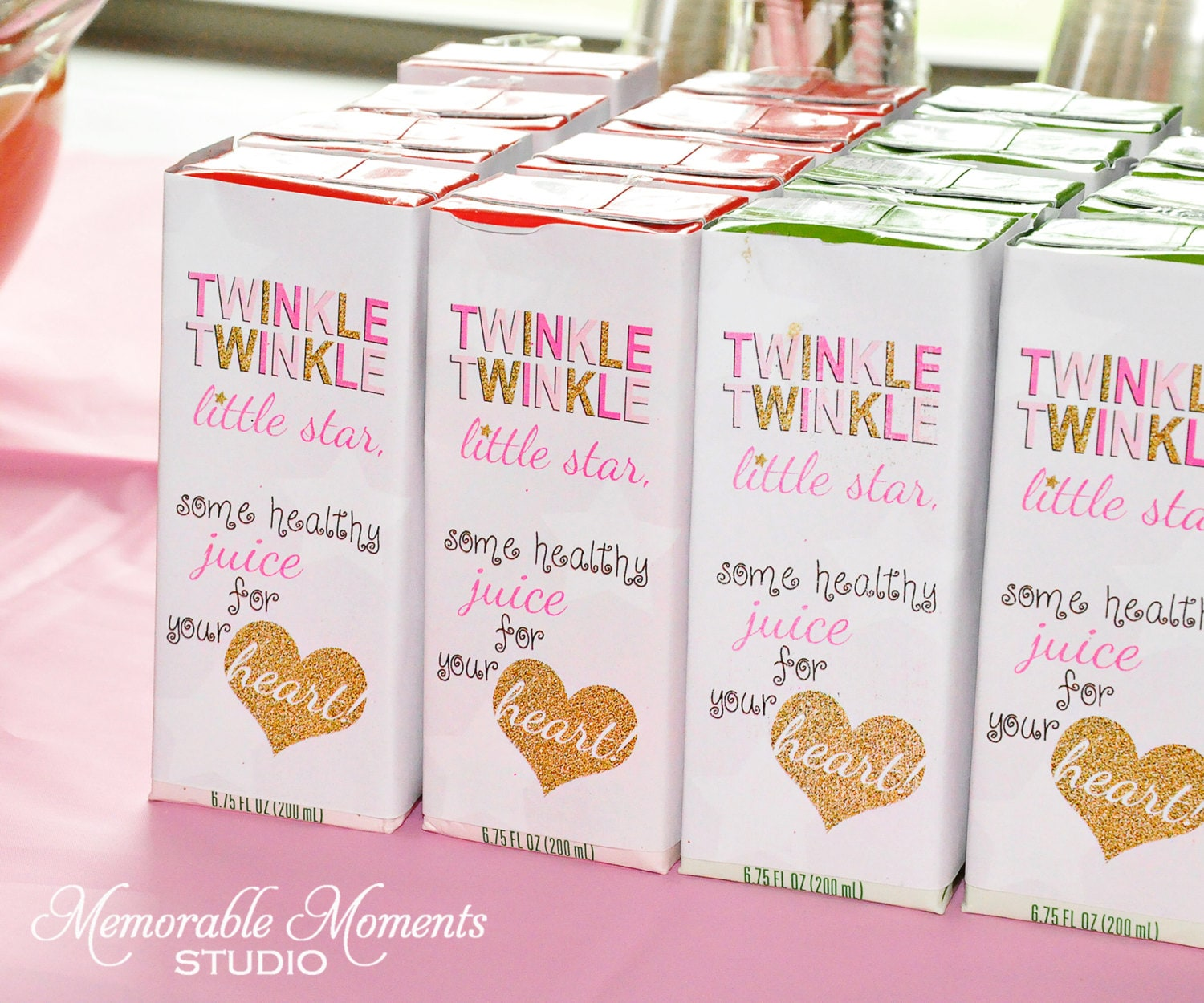 PRINTABLE JUICE BOX labels Twinkle Twinkle Little Star Party
