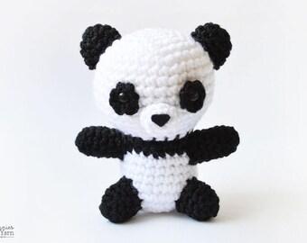 Pete the Little Panda Crochet Pattern - Instant PDF Download
